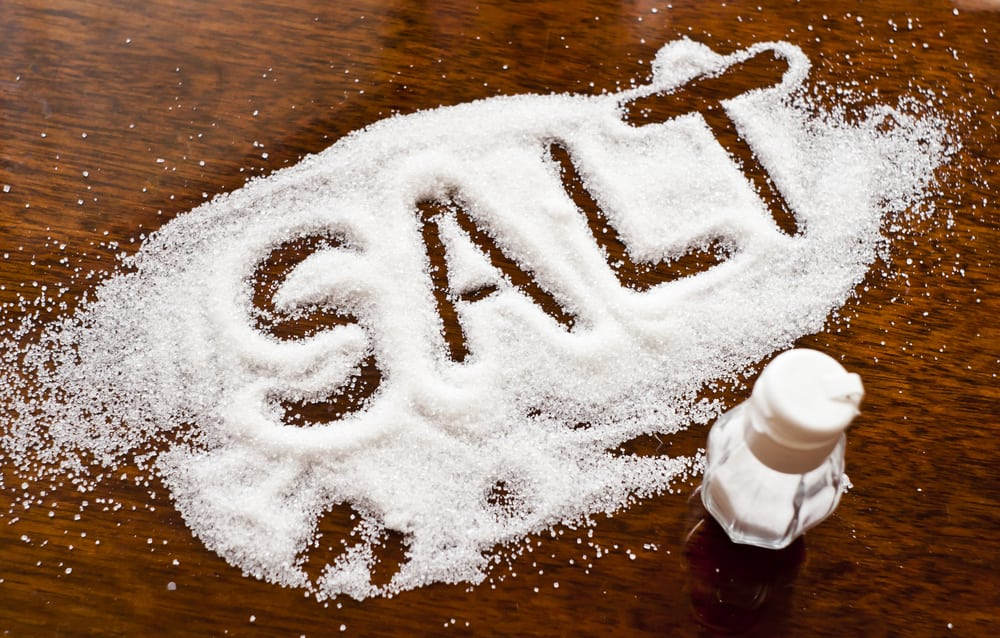 Salt will not make you fat, it will only make you hold more water