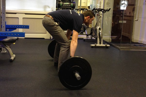 Deadlifting with bad form
