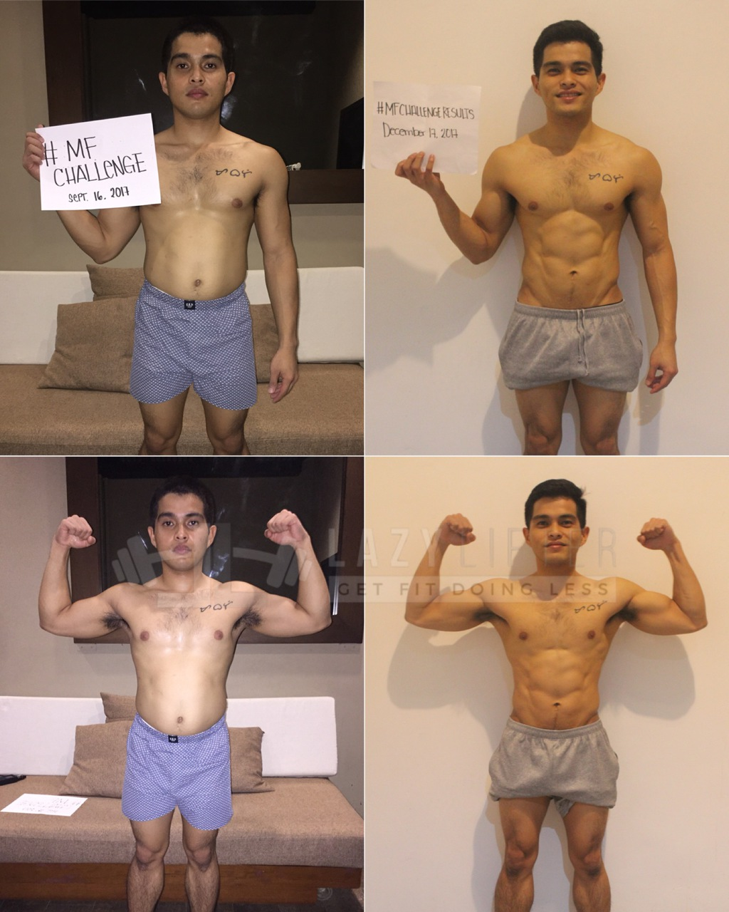 Vincent MF Challenge results