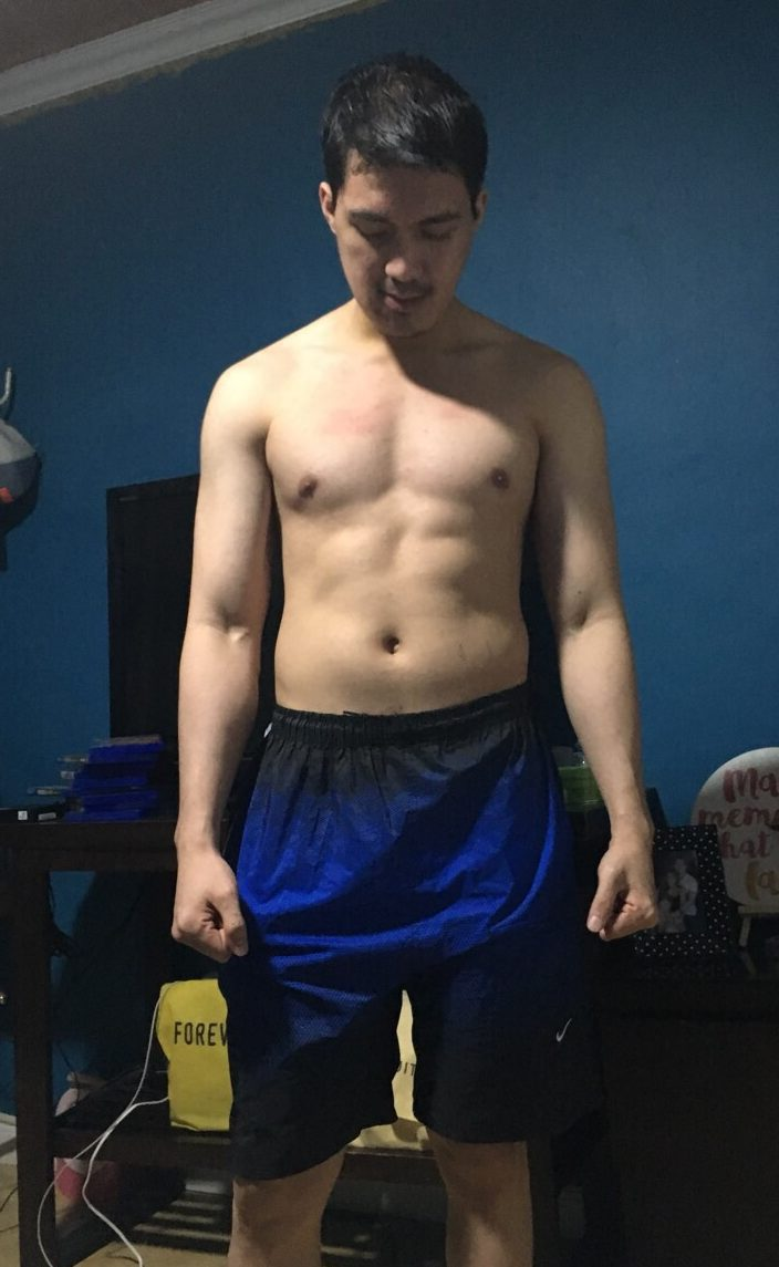 Physique update 1 month post surgery