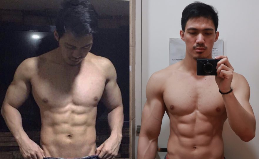 eat anything you want and get ripped